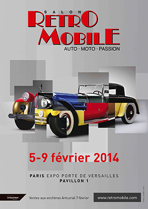 SALON RETROMOBILE PARIS (FR) (2014-02-05)