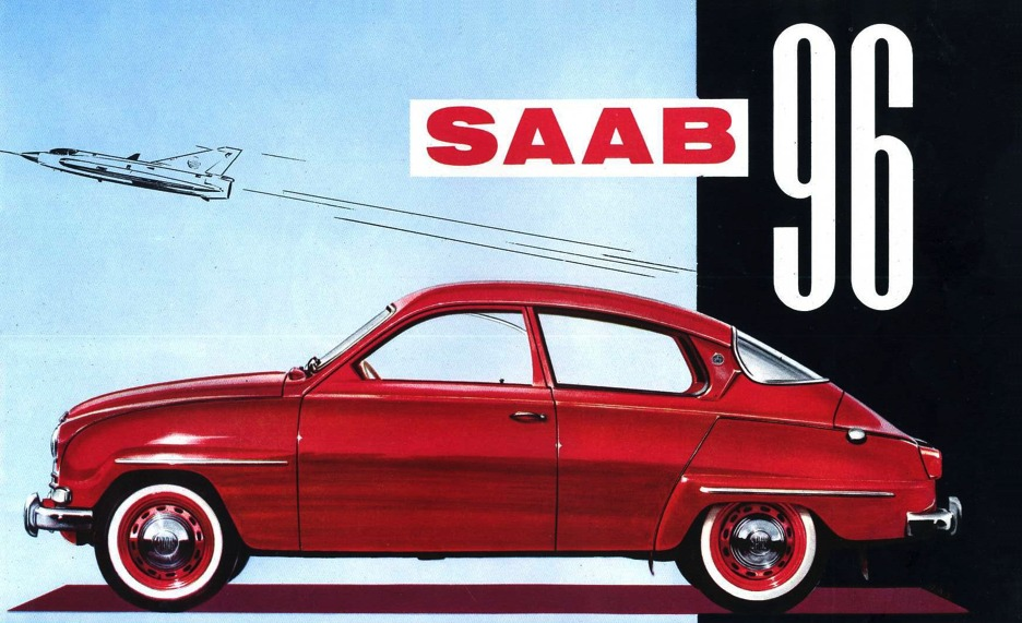 SAAB 96  G. BEUCKER ANDREAE  (NL/ENGLISH)