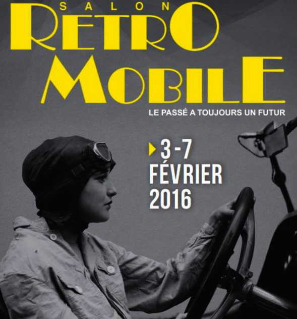 RETROMOBILE PARIS (FR) (2016-02-03)
