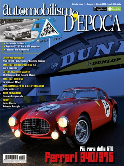 AUTOMOBILISMO D'EPOCA (IT) (2011-11-01)
