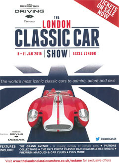 LONDON CLASSIC CAR SHOW (2015-01-09)