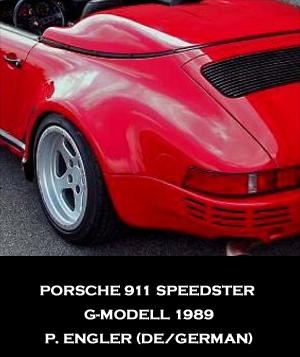 PORSCHE 911 SPEEDSTER G-MODELL 1989 - EZ ELECTRIC POWER STEERING