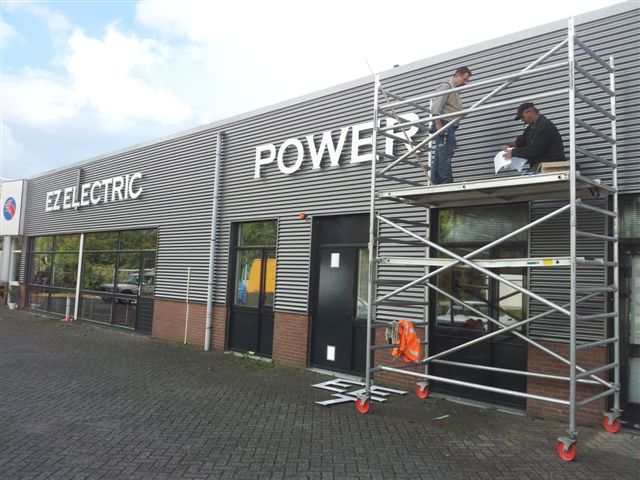 EZ Electric Power Steering - new company building in reconstruction 4