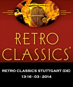RETRO CLASSICS STUTTGART 2014 - EZ Electric Power Steering
