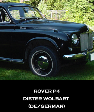 ROVER P4 - EZ ELECTRIC POWER STEERING