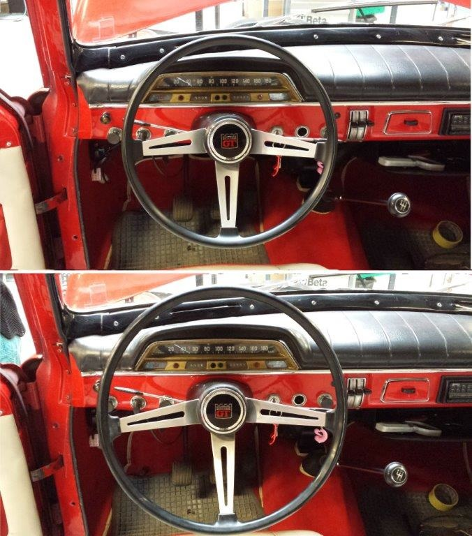 Reproduction Steering Wheels 1800 And 123gt Volvo Owners